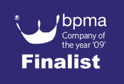 BPMA Company of the year finalist logo