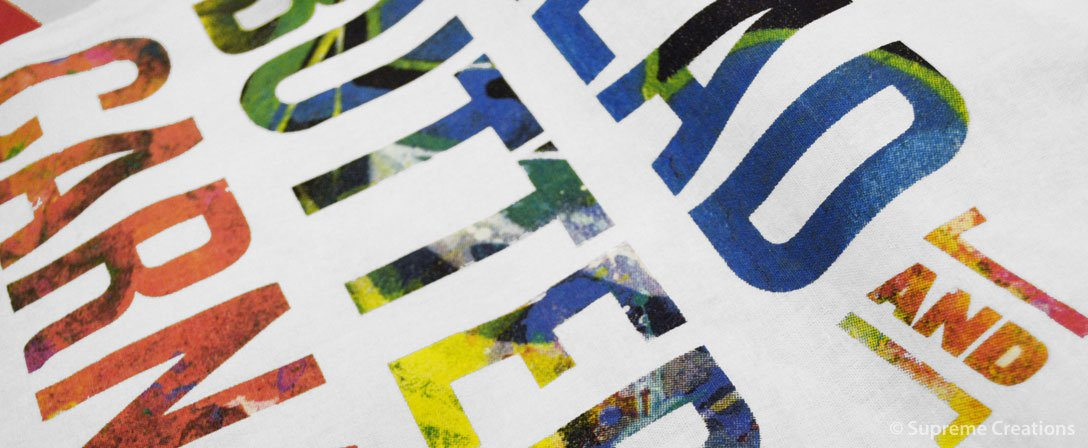 Screen Print Spot Colour
