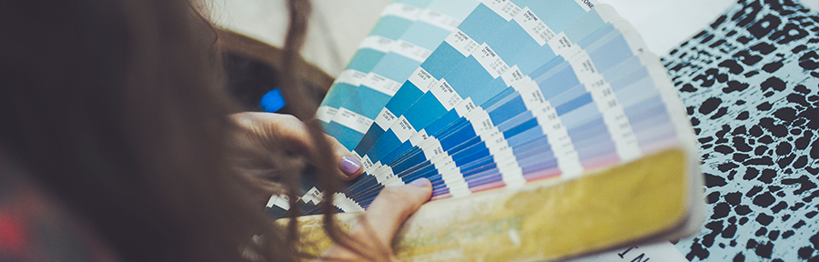 image of a pantone chart; why choose Supreme Creations?